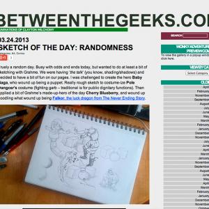 Betweenthegeeks Post Page