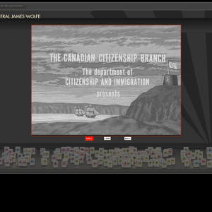 Canadian Online Railway Expanded Slideshow Viewer Mode