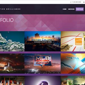 Plum Creative Portfolio Page
