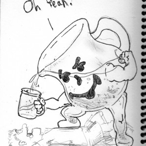 Sketch of the Day ~ Oh Yeah