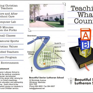 Beautiful Savior Lutheran School Brochure