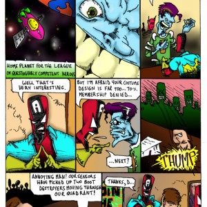 CropCrushers Preview Comic, Page 2