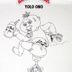 Newest Garbage Pail Kid (Retro), Yolo Ono